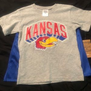 Other - Children's Kansas University Tee NEW with tags